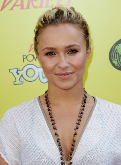 Hayden Panettiere Sophisticated, Wavy, Blonde Hairstyle