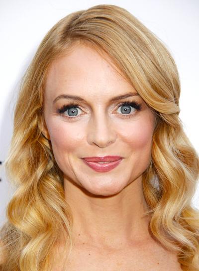 Heather Graham's Long, Blonde, Wavy, Romantic Hairstyle