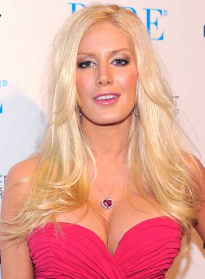 Heidi Montag Long, Layered, Blonde Hairstyle