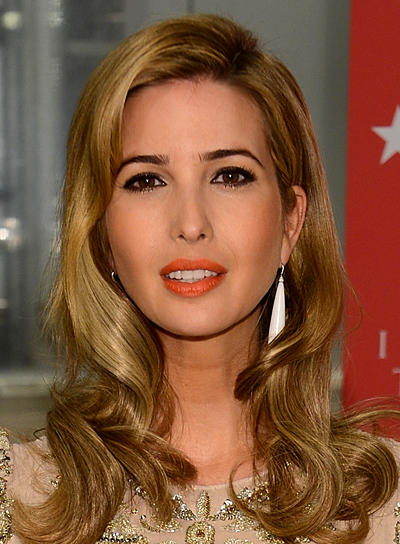 Ivanka Trump's Romantic, Blonde, Wavy, Sophisticated Hairstyle