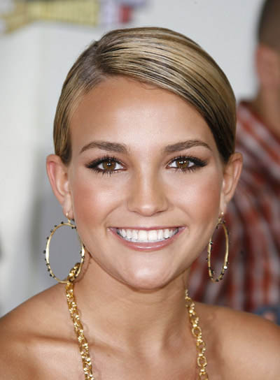 Jamie Spears Sophisticated Updo