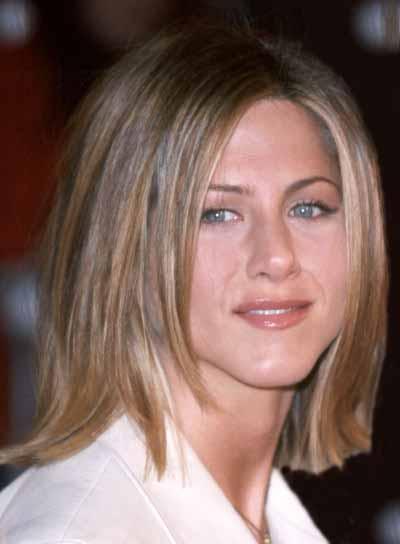 Jennifer Aniston Medium, Bob Haircut