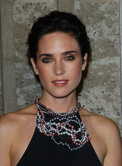 Jennifer Connelly Curly, Wedding Updo