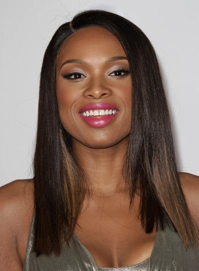 Jennifer Hudson Medium, Straight, Sophisticated, Chic, Black Hairstyle