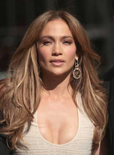 Jennifer Lopez Long, Sexy Hairstyle