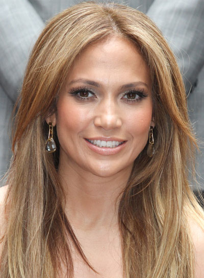 Jennifer Lopez Long, Sexy, Straight Hairstyle