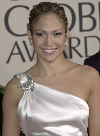 Jennifer Lopez Sophisticated Updo
