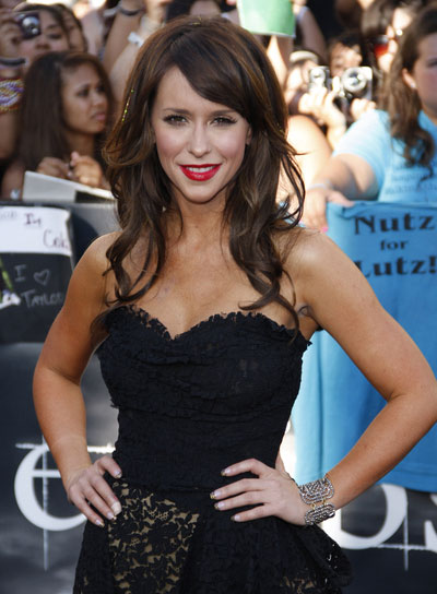 Jennifer Love Hewitt Curly, Romantic Hairstyle with Bangs