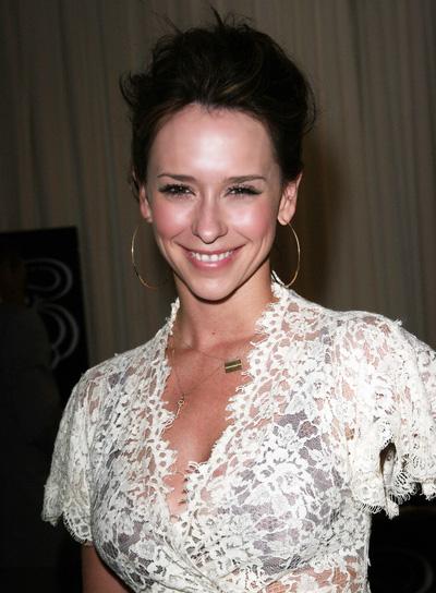 Jennifer Love Hewitt Sophisticated, Brunette Updo