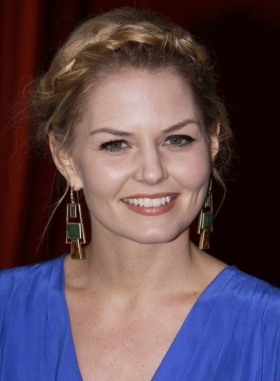 Jennifer Morrison Romantic, Blonde Updo with Braids and Twists