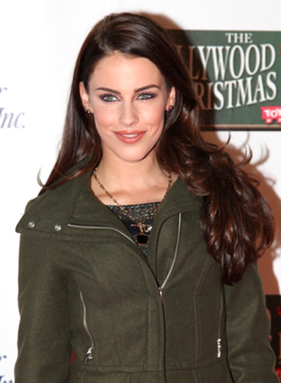 Jessica Lowndes' Long, Romantic, Wavy, Brunette, Hairstyle