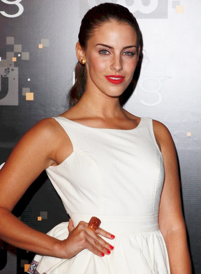 Jessica Lowndes Sophisticated, Chic, Brunette Ponytail