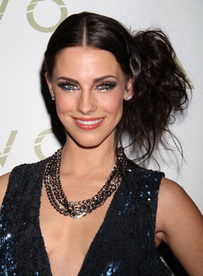 Jessica Lowndes Funky, Edgy, Black Updo