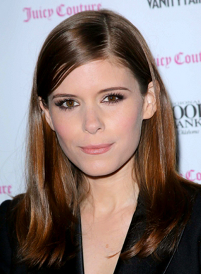 Kate Mara's Sophisticated, Straight, Chic, Brunette Hairstyle