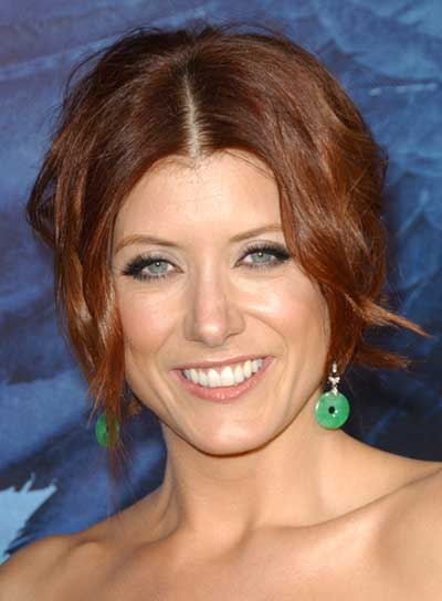 Kate Walsh Tousled, Red, Curly Updo