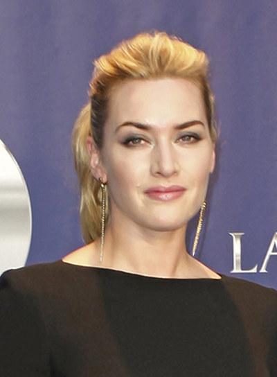 Kate Winslet Sophisticated, Blonde Ponytail