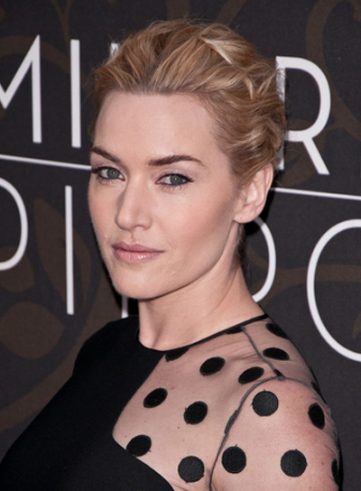 Kate Winslet Short, Blonde Hairstyle