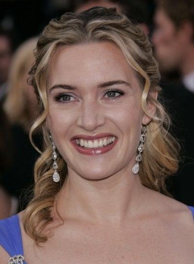 Kate Winslet Wavy Half Updo