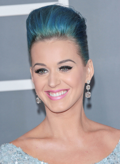 Katy Perry Edgy, Funky, Party Updo