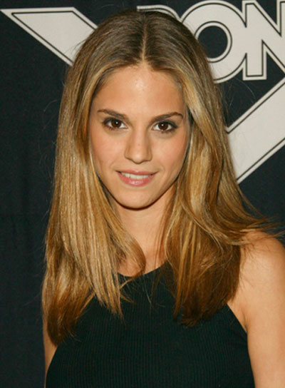 Kelly Kruger Long, Straight, Chic, Blonde Hairstyle