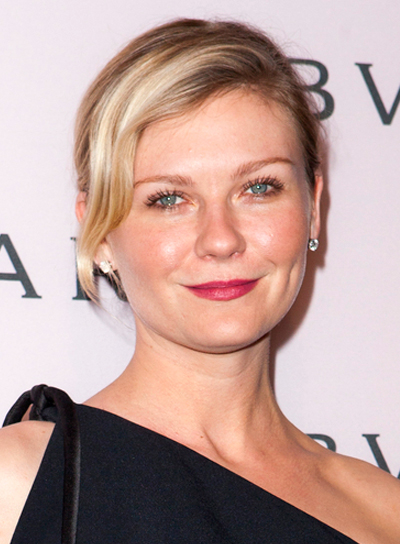 Kirsten Dunst's Blonde, Sophisticated, Formal, Updo Hairstyle