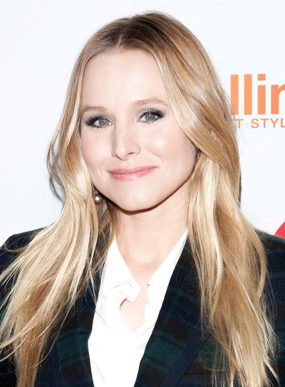 Kristen Bell's Long, Blonde, Romantic, Tousled Hairstyle