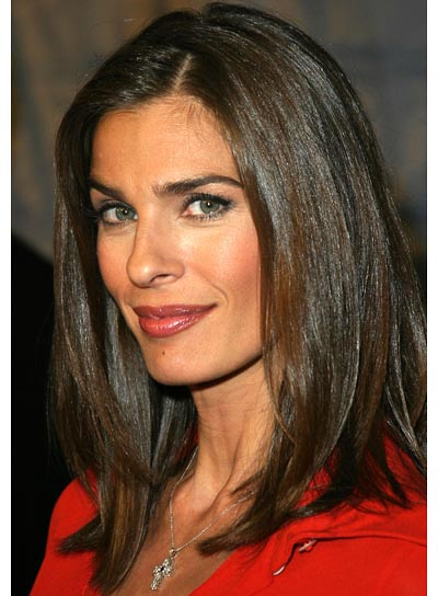 Kristian Alfonso Medium, Straight Hairstyle