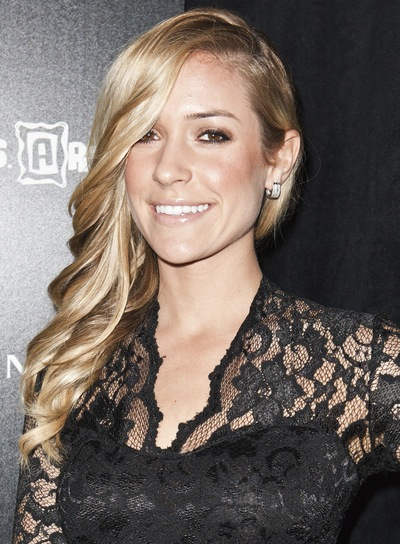 Kristin Cavallari Romantic, Curly, Sophisticated, Blonde Hairstyle