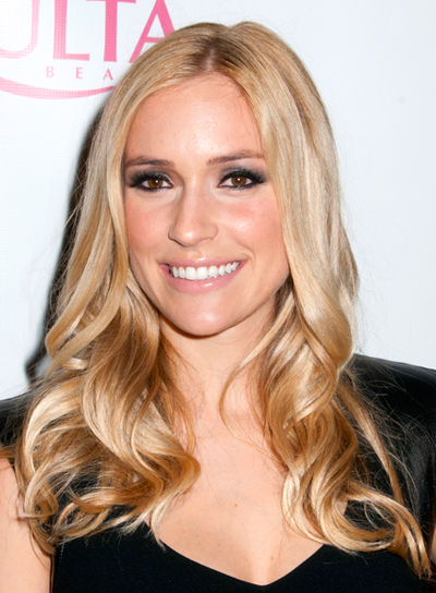 Kristin Cavillari's Long, Romantic, Wavy, Blonde Hairstyle
