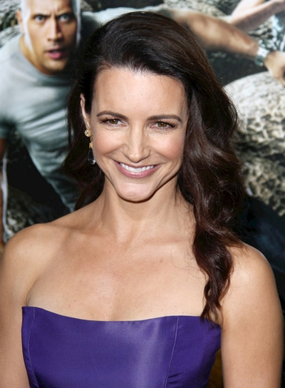 Kristin Davis Long, Curly Party, Prom, Brunette Hairstyle