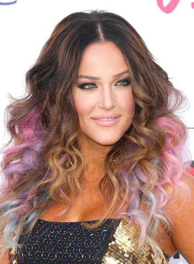 Lacey Schwimmer's Long, Funky, Curly Hairstyle