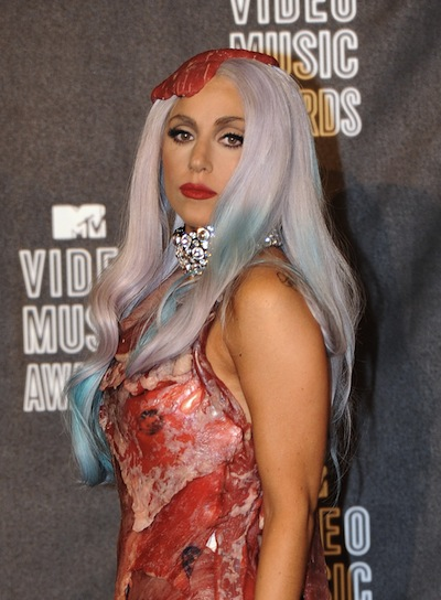 Lady Gaga Long, Funky Hairstyle