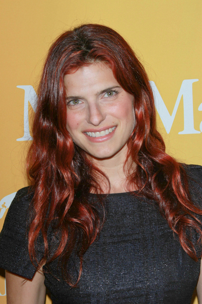 Lake Bell's, Long, Red, Romantic, Curly Hairstyle