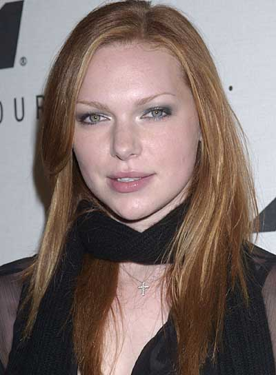 Laura Prepon Long, Straight, Red Hairstyle