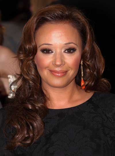 Leah Remini Long, Curly, Sexy, Brunette Hairstyle