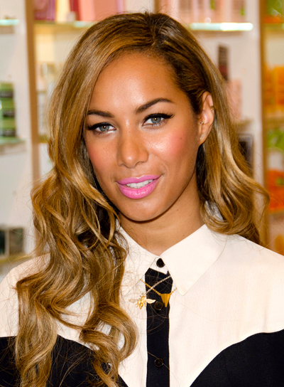 Leona Lewis' Long, Chic, Wavy, Party Hairstyle