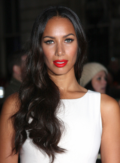 Leona Lewis Long, Wavy, Black Hairstyle