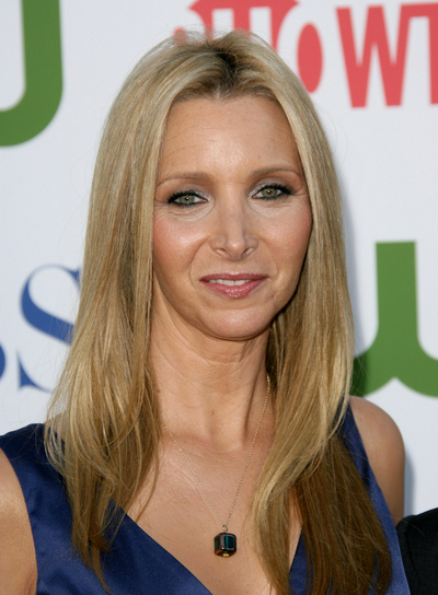 Lisa Kudrow Long, Straight, Sophisticated, Blonde Hairstyle
