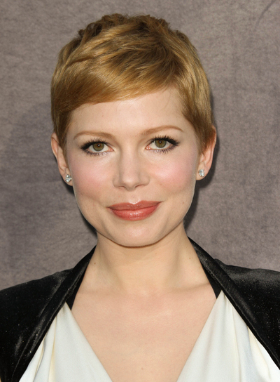 Michelle Williams Chic, Blonde Hairstyle