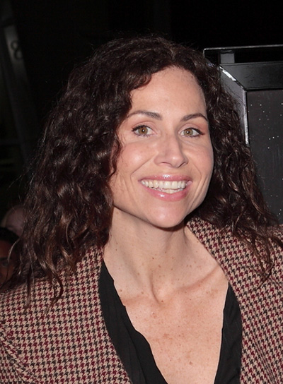 Minnie Driver Long, Curly, Brunette Hairstyle