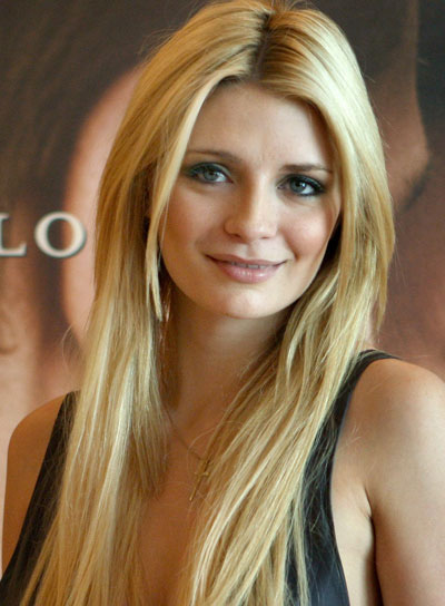 Mischa Barton Long, Straight, Sexy Hairstyle