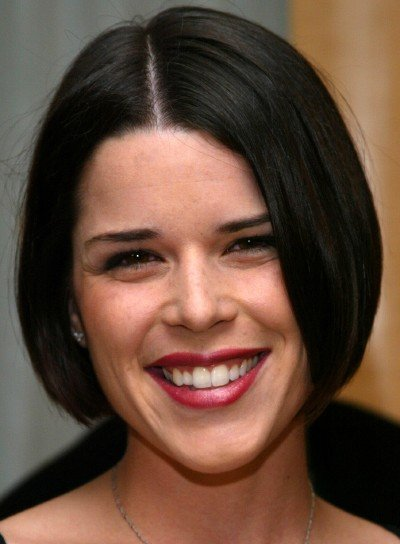 Neve Campbell Sophisticated Bob