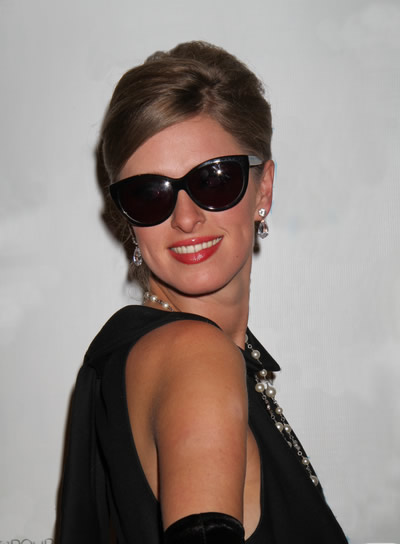 Nicky Hilton Chic, Sophisticated, Blonde Updo