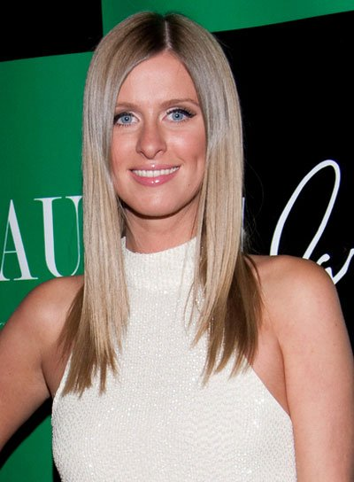 Nicky Hilton Straight, Layered Hairstyle