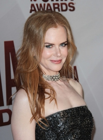 Nicole Kidman Long, Straight, Layered, Red Hairstyle