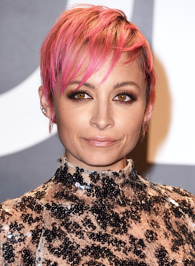 Nicole Richie with a Short, Edgy, Funky, Pixie Hairstyle Pictures
