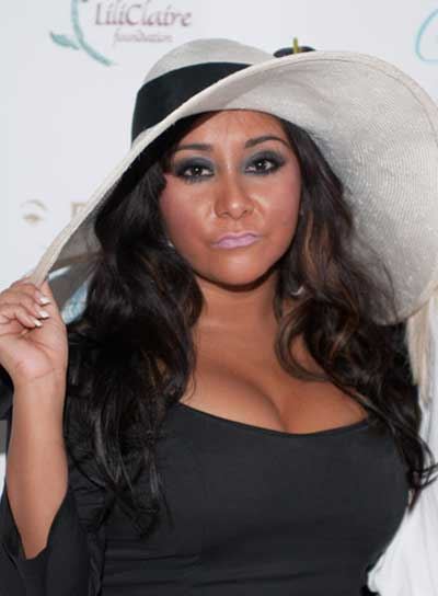 "Nicole ""Snooki"" Polizzi Long, Wavy, Sophisticated Hairstyle"