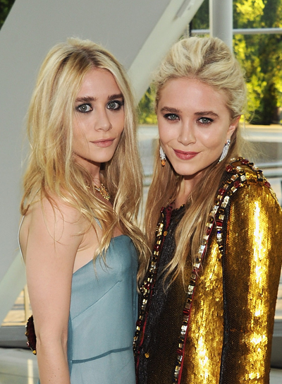 Olsen Twins Long, Blonde Hairstyle