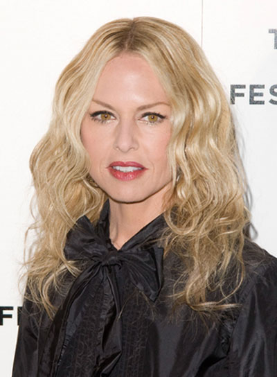 Rachel Zoe Long, Wavy, Blonde Hairstyle