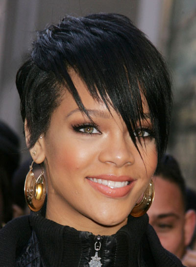 Rihanna Edgy, Short Hairstyle